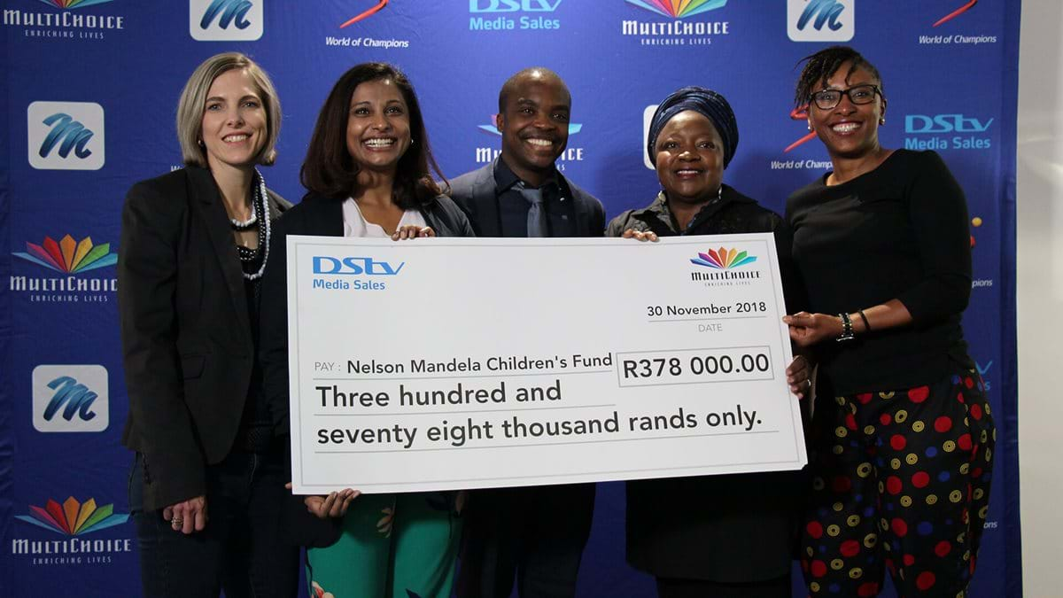 R378 000 raised for Nelson Mandela's Children's fund