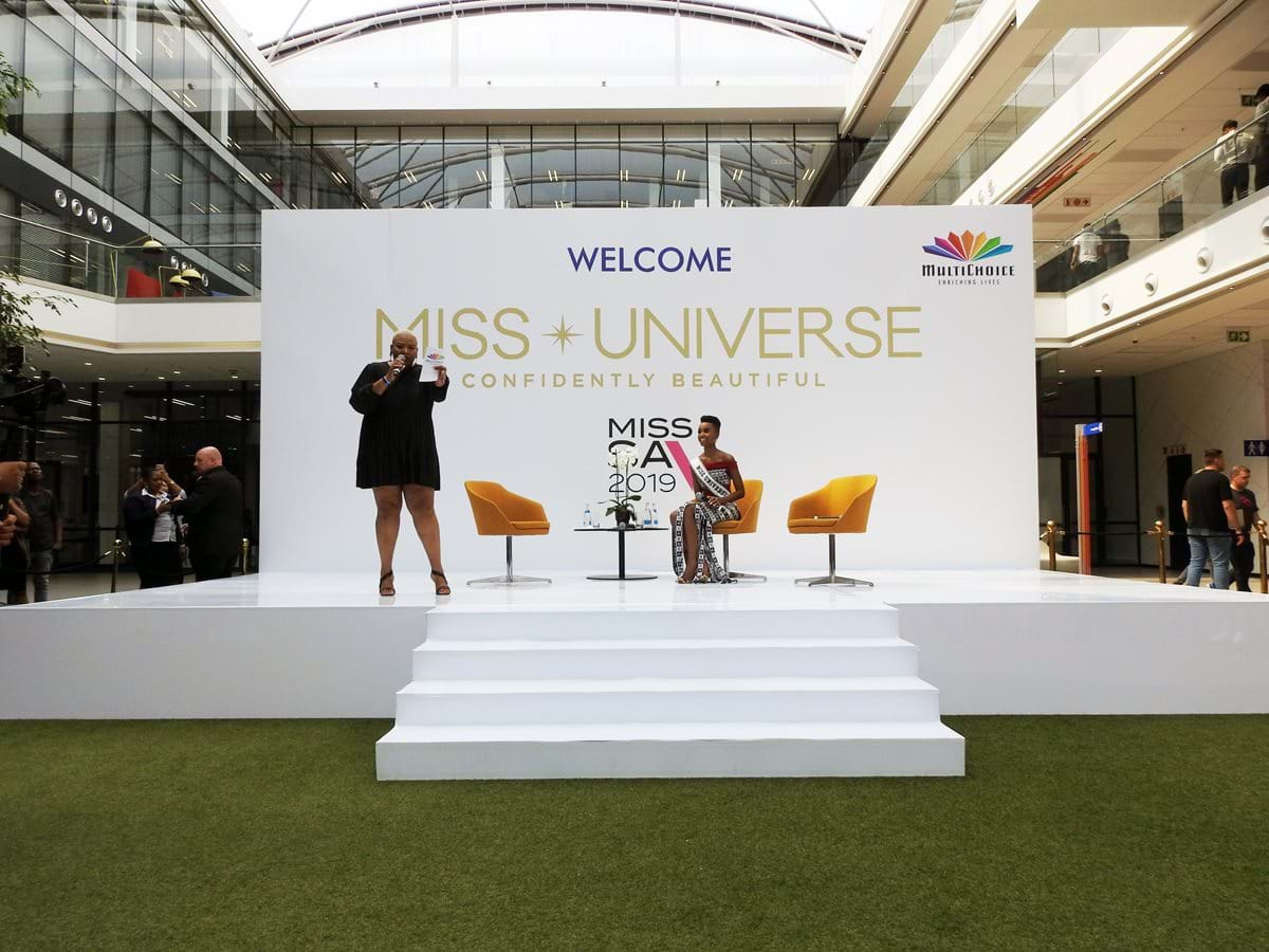 Miss Universe brings her homecoming tour to MultiChoice City